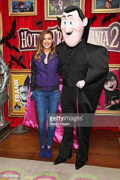 Charlie Webster attends the Hotel Transylvania 2 Tea Party and Gala Screening at The Soho Hotel on September 27 2015 in London England