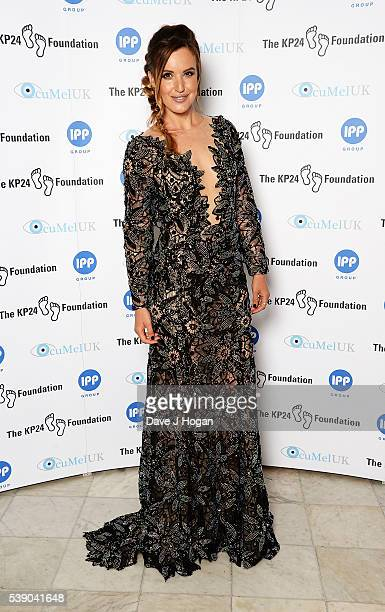 Charlie Webster attends The KP24 Foundation Charity Gala Dinner at The Waldorf Hilton Hotel on June 9 2016 in London England