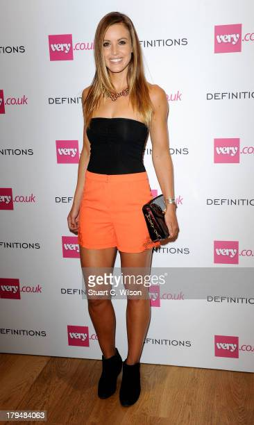 Charlie Webster attends the launch party of verycouk's Definiteations range at Somerset House on September 4 2013 in London England