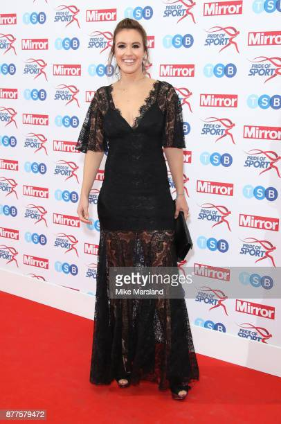Charlie Webster attends the Pride of Sport awards at Grosvenor House on November 22 2017 in London England