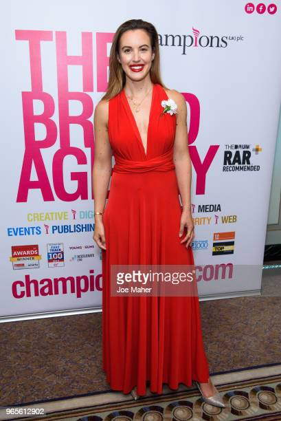 Charlie Webster attends the Rainbows Celebrity Charity Ball at Dorchester Hotel on June 1 2018 in London England
