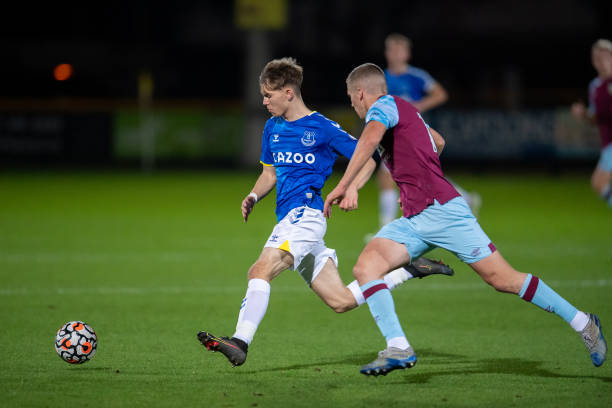 GBR: Everton U23 v Burnley U23: Premier League Cup