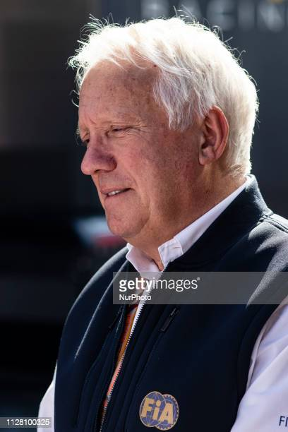 Charlie Whiting portrait during the Formula 1 2019 PreSeason Tests at Circuit de Barcelona Catalunya in Montmelo Spain on February 28