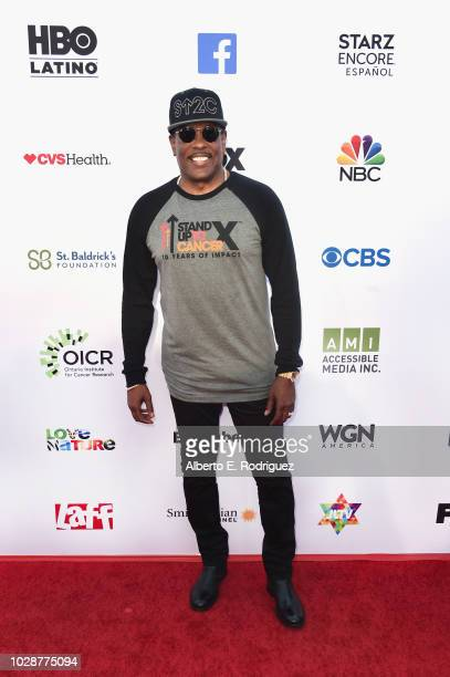 Charlie Wilson attends the sixth biennial Stand Up To Cancer telecast at the Barkar Hangar on Friday September 7 2018 in Santa Monica California