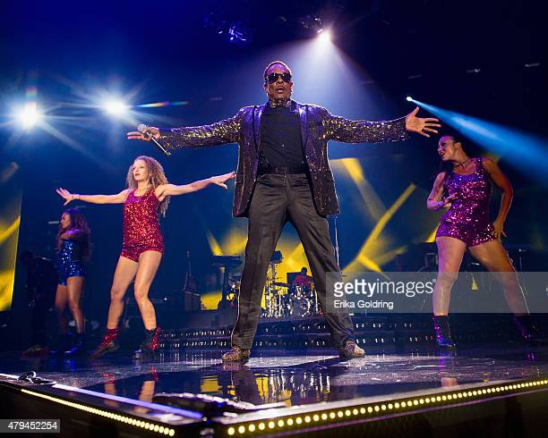 Charlie Wilson performs at the 2015 Essence Music Festival on July 3 2015 in New Orleans Louisiana