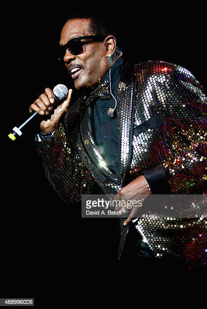 Charlie Wilson performs live in concert at Ntelos Wireless Pavilion on September 18 2015 in Portsmouth Virginia