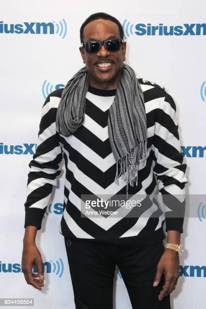 Charlie Wilson visits SiriusXM during Charlie Wilson Performs Live On SiriusXM Performance To Air On SiriusXM's Heart Soul Channel at SiriusXM...