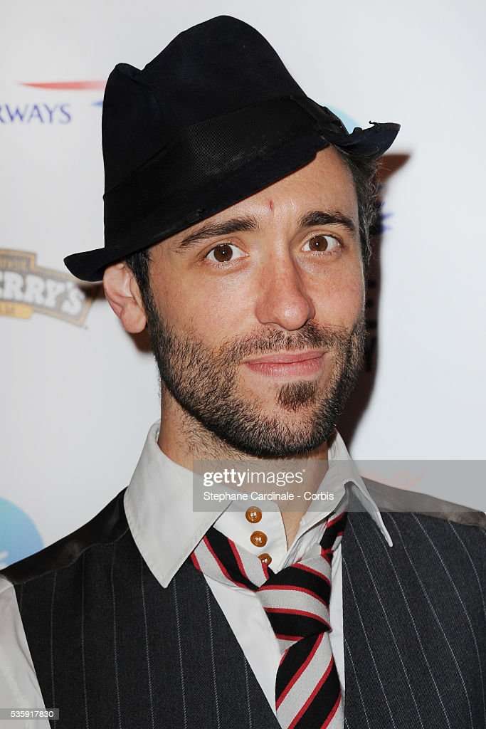 Charlie Winston attends the Peace One Day Celebration 2010 held at the Zenith in Paris.