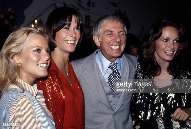 Charlie's Angels with Aaron Spelling circa 1978 in Los Angeles California