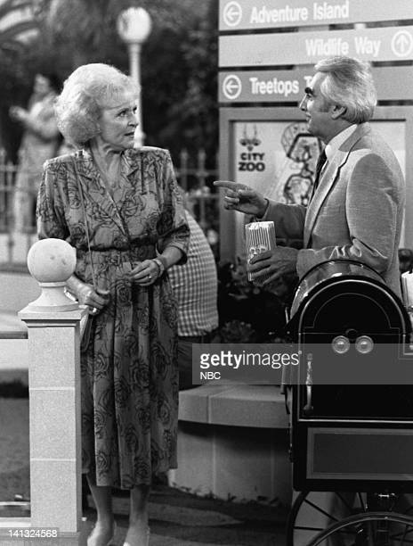 GIRLS Charlie's Buddy Episode 12 Pictured Betty White as Rose Nylund Milo O'Shea as Buddy Rourke Photo by Ron Tom/NBCU Photo Bank