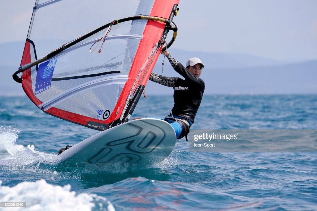 Charline Picon Planche A Voile Rsx Semaine Olympique Francaise Photo D Actualite Getty Images
