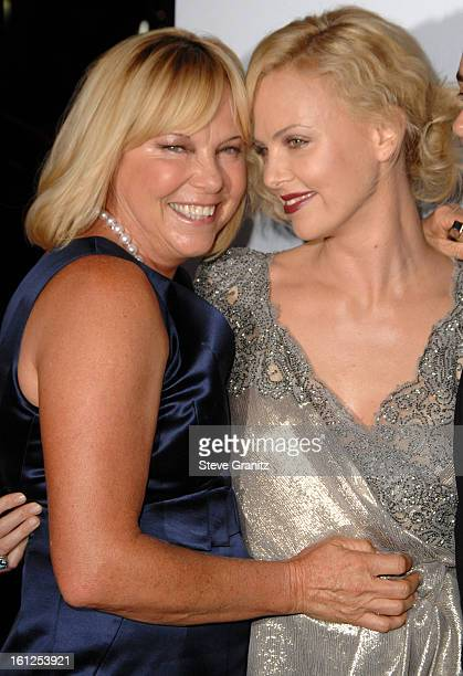 Charlize Theron and Mother Gerda arrives at the AFI Fest 2009 gala screening of The Road at Grauman's Chinese Theatre on November 4 2009 in Hollywood...