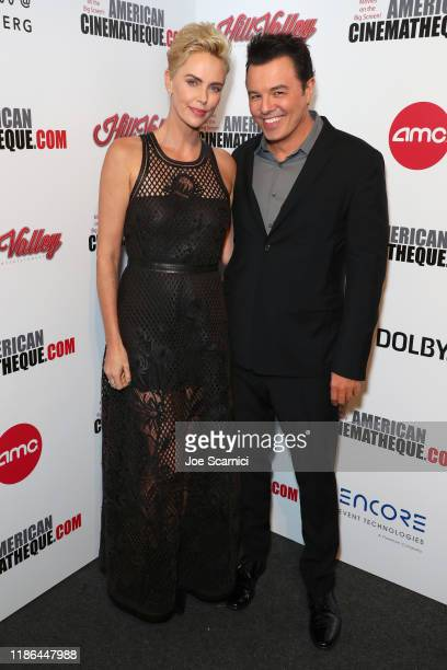 Charlize Theron and Seth MacFarlane attend the 33rd American Cinematheque Award Presentation Honoring Charlize Theron and The 5th Annual Sid Grauman...