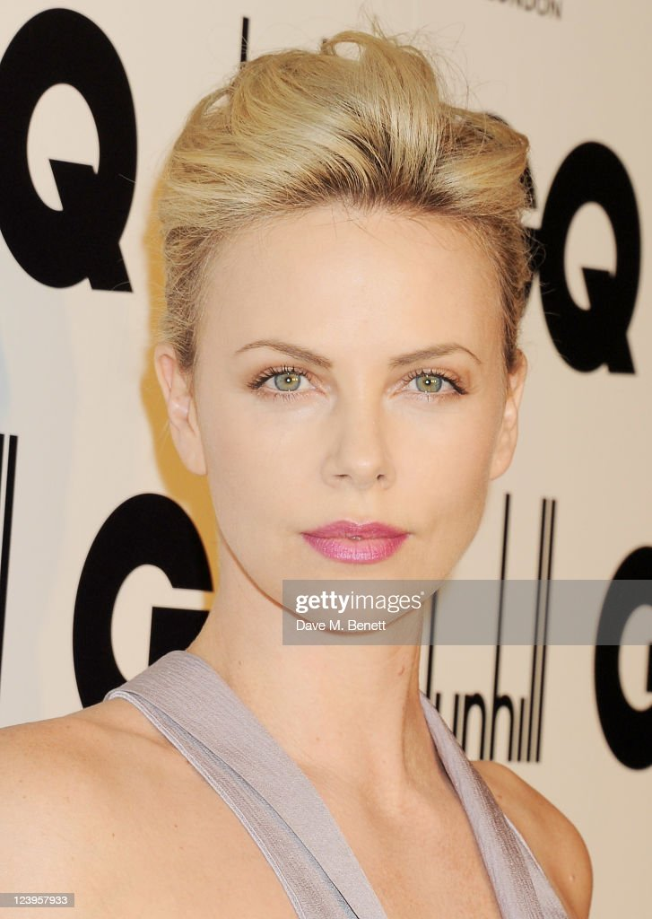 Charlize Theron arrives at the GQ Men Of The Year Awards 2011 at The Royal Opera House on September 6, 2011 in London, England.