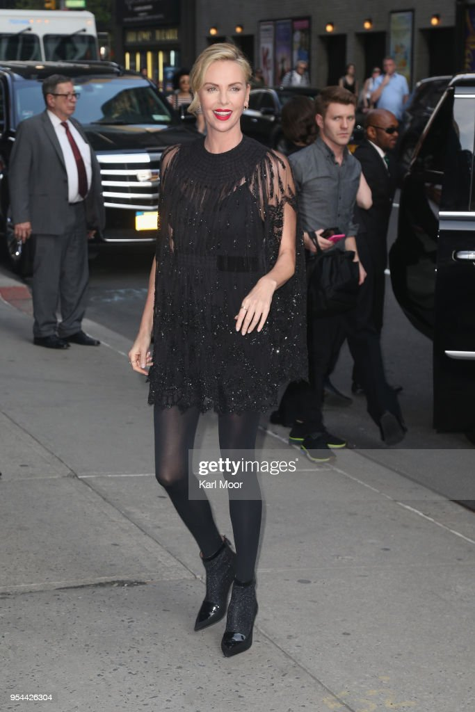 Celebrities Visit 'The Late Show With Stephen Colbert' - May 3, 2018 : ニュース写真
