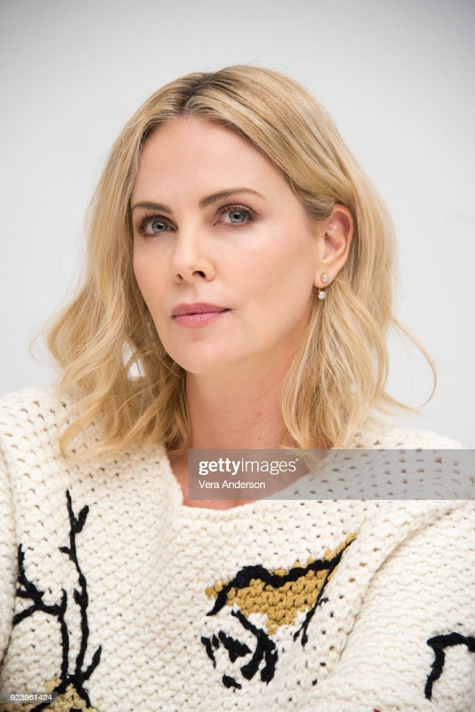 Charlize Theron at the 'Gringo' Press Conference at the Four Seasons Hotel on February 24, 2018 in Beverly Hills, California.