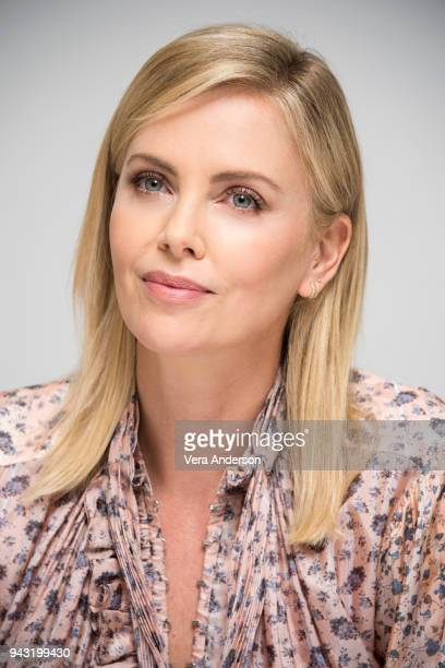 Charlize Theron at the 'Tully' Press Conference at the Four Seasons Hotel on April 6 2018 in Beverly Hills California