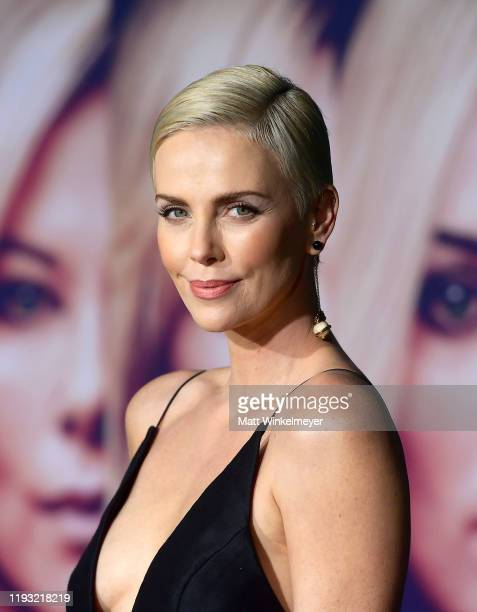 Charlize Theron attends a Special Screening of Liongate's Bombshell at Regency Village Theatre on December 10 2019 in Westwood California