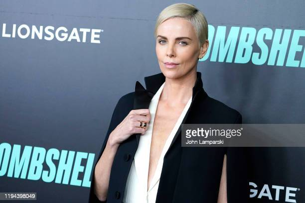 Charlize Theron attends Bombshell New York screening at Jazz at Lincoln Center on December 16 2019 in New York City