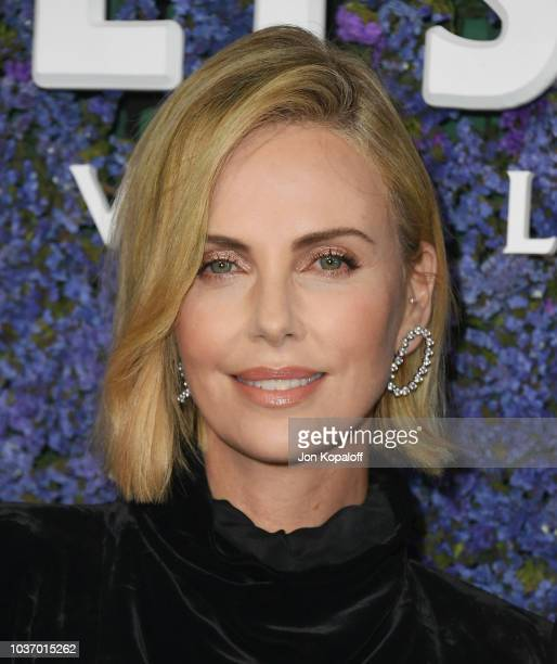 Charlize Theron attends Caruso's Palisades Village Opening Gala at Palisades Village on September 20 2018 in Pacific Palisades California