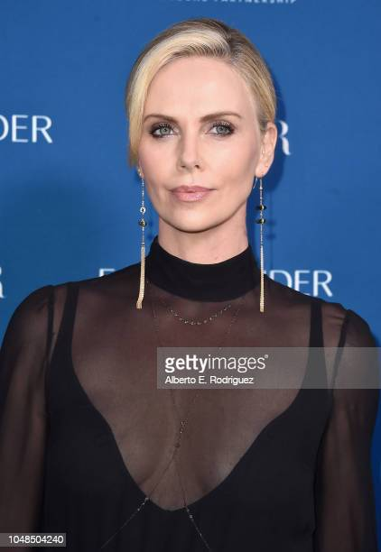 Charlize Theron attends PORTER's Third Annual Incredible Women Gala at The Ebell of Los Angeles on October 9 2018 in Los Angeles California