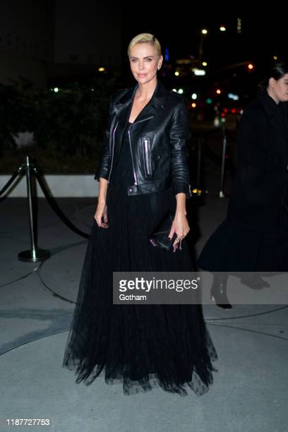 Charlize Theron attends the 2019 Guggenheim International Gala on November 14 2019 in New York City