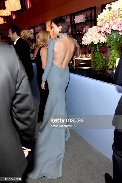 Charlize Theron attends the 2019 Vanity Fair Oscar Party hosted by Radhika Jones at Wallis Annenberg Center for the Performing Arts on February 24...