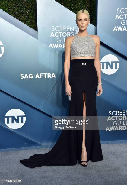 Charlize Theron attends the 26th Annual Screen Actors Guild Awards at The Shrine Auditorium on January 19 2020 in Los Angeles California 721430