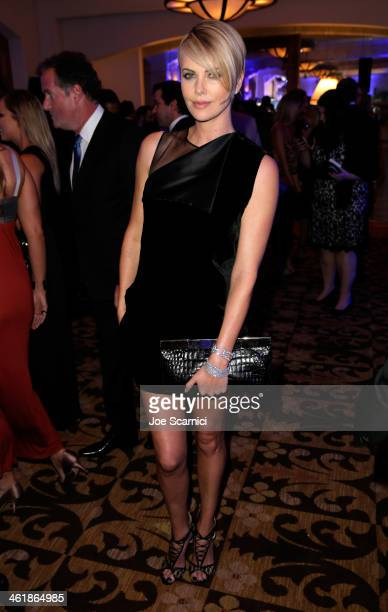Charlize Theron attends the 3rd annual Sean Penn Friends HELP HAITI HOME Gala benefiting J/P HRO presented by Giorgio Armani at Montage Beverly Hills...