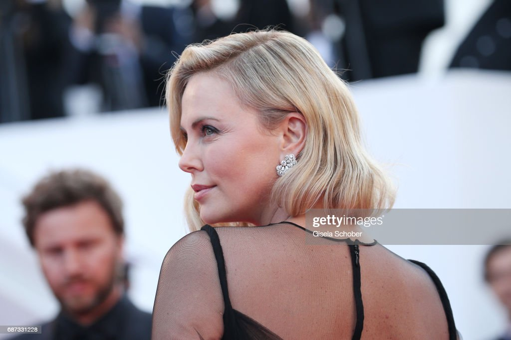Charlize Theron attends the 70th Anniversary screening during the 70th annual Cannes Film Festival at Palais des Festivals on May 23, 2017 in Cannes, France.