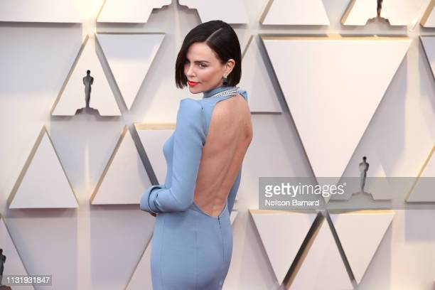 Charlize Theron attends the 91st Annual Academy Awards Arrivals at Hollywood and Highland on February 24 2019 in Hollywood California
