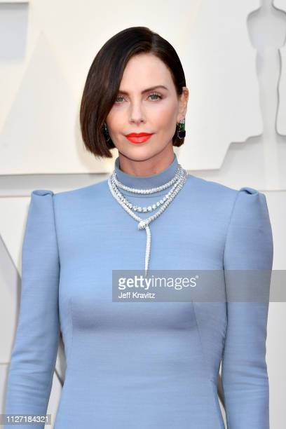 Charlize Theron attends the 91st Annual Academy Awards at Hollywood and Highland on February 24 2019 in Hollywood California