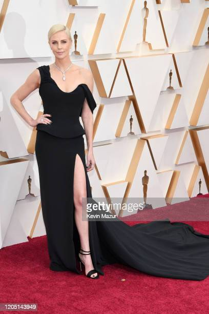 Charlize Theron attends the 92nd Annual Academy Awards at Hollywood and Highland on February 09 2020 in Hollywood California