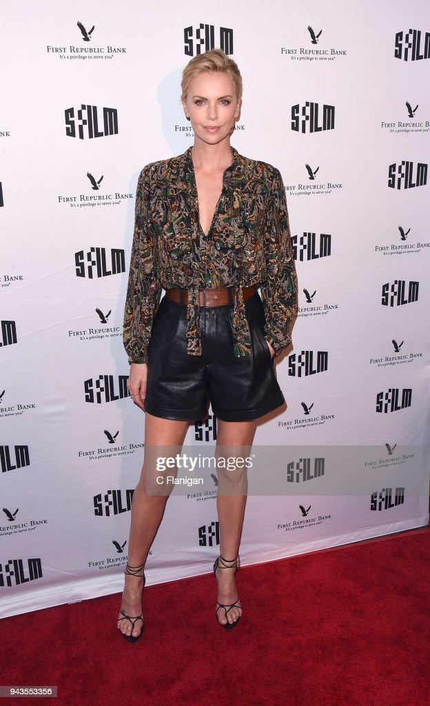 Charlize Theron attends the A Tribute To Charlize Theron: 'Tully' during the 2018 San Francisco Film Festival at Castro Theatre on April 8, 2018 in San Francisco, California.