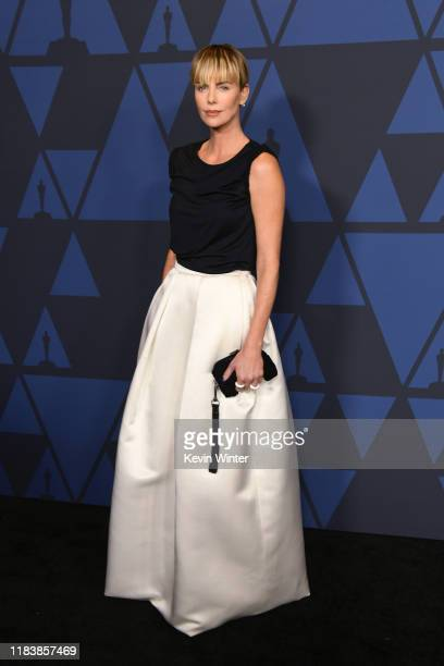 Charlize Theron attends the Academy Of Motion Picture Arts And Sciences' 11th Annual Governors Awards at The Ray Dolby Ballroom at Hollywood Highland...