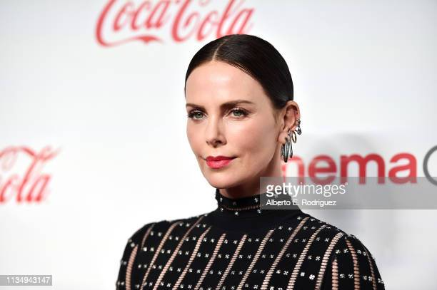 Charlize Theron attends The CinemaCon Big Screen Achievement Awards Brought to you by The CocaCola Company at OMNIA Nightclub at Caesars Palace...