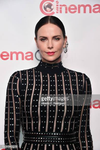 Charlize Theron attends The CinemaCon Big Screen Achievement Awards Brought to you by The Coca-Cola Company at OMNIA Nightclub at Caesars Palace...
