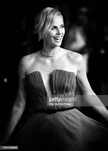 Charlize Theron attends the EE British Academy Film Awards 2020 at the Royal Albert Hall on February 2 2020 in London England