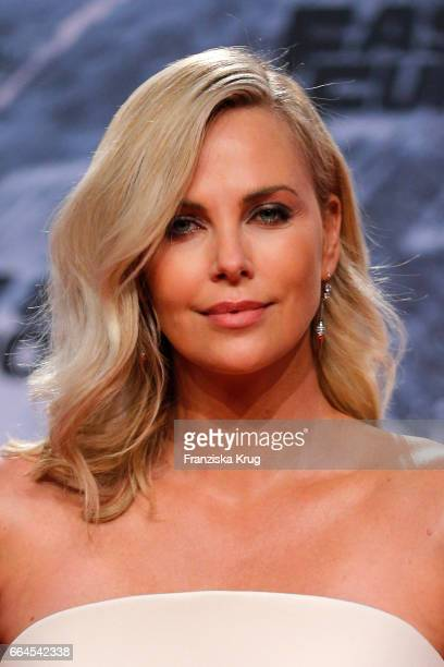 Charlize Theron attends the Fast Furious 8 Berlin Premiere at Sony Centre on April 4 2017 in Berlin Germany
