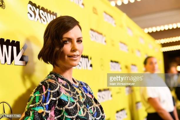 Charlize Theron attends the Long Shot Premiere 2019 SXSW Conference and Festivals at Paramount Theatre on March 09 2019 in Austin Texas