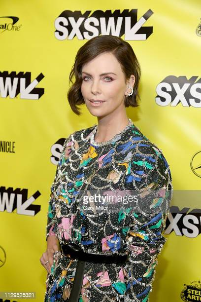 Charlize Theron attends the Long Shot screening at the Paramount Theatre during the 2019 SXSW Conference And Festival on March 9 2019 in Austin Texas