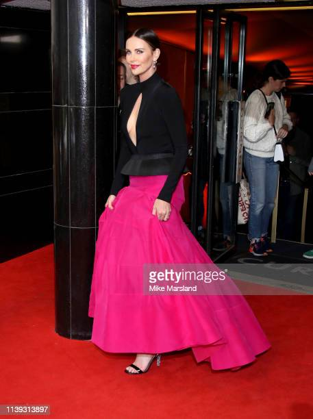 Charlize Theron attends the Long Shot special screening at Curzon Cinema Mayfair on April 25 2019 in London England