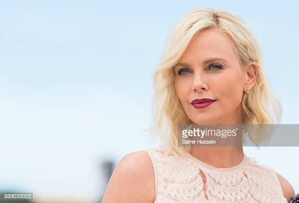 Charlize Theron attends the 'The Last Face' Photocall at the annual 69th Cannes Film Festival at Palais des Festivals on May 20 2016 in Cannes France