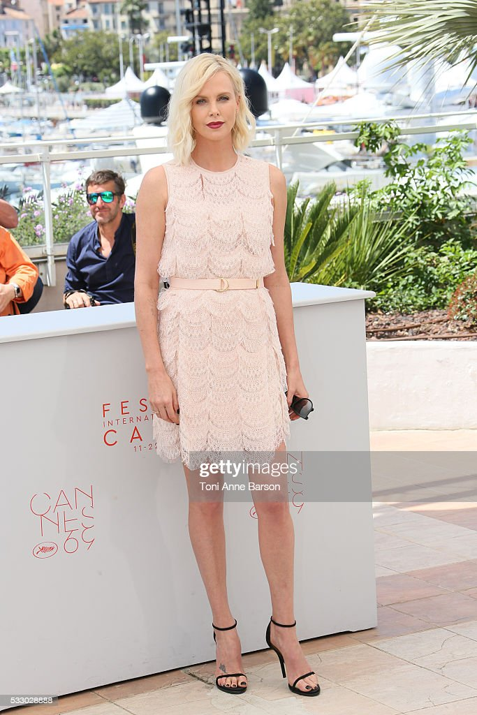 """The Last Face"" Photocall - The 69th Annual Cannes Film Festival : News Photo"