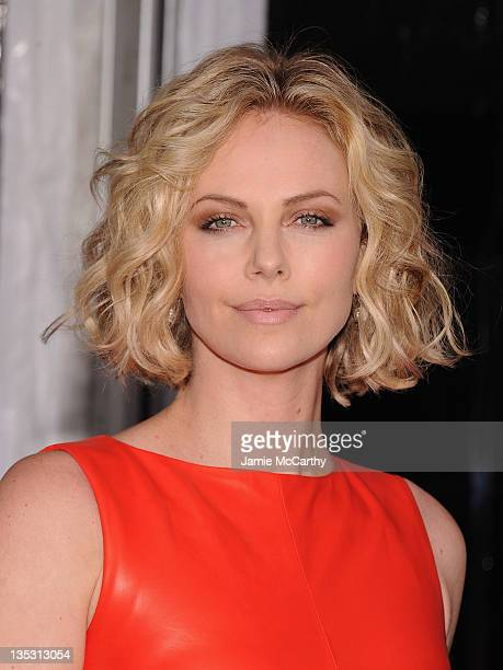Charlize Theron attends the Young Adult world premiere at the Ziegfeld Theatre on December 8 2011 in New York City