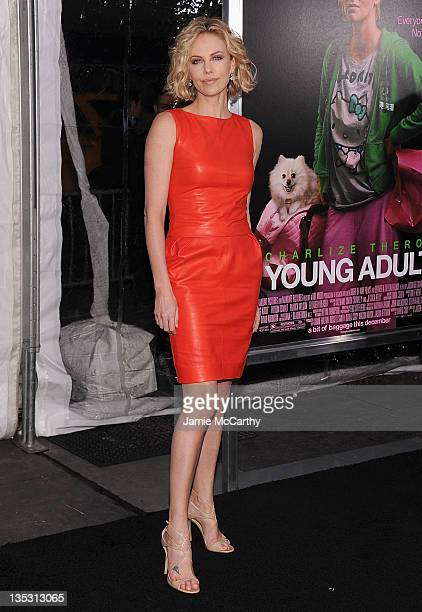 Charlize Theron attends the 'Young Adult' world premiere at the Ziegfeld Theatre on December 8 2011 in New York City