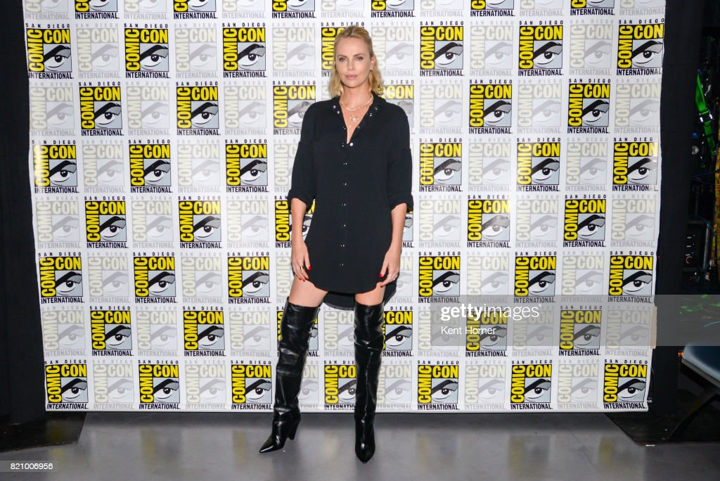 "Entertainment Weekly's ""Women Who Kick Ass - Icon Edition with Charlize Theron"" panel at San Diego Comic Con 2017"