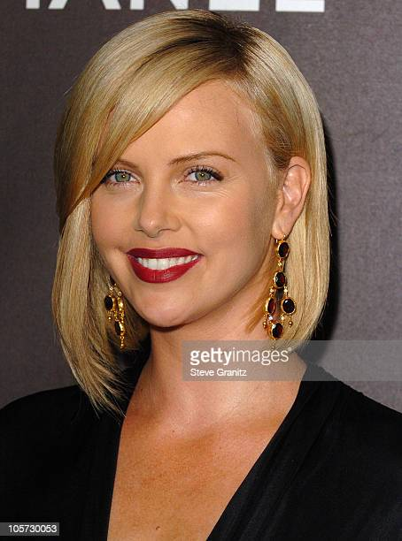 Charlize Theron during 12th Annual Premiere Women in Hollywood Arrivals in Beverly Hills California United States