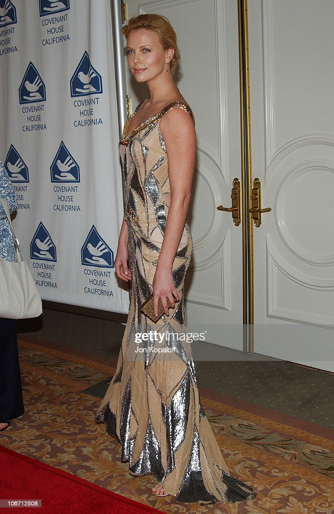 Covenant House California's Youth Dinner Gala Honors Charlize Theron, Sharon Osbourne and the 'Monster' Team : News Photo