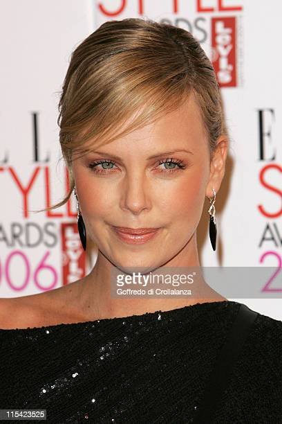Charlize Theron during ELLE Style Awards 2006 Arrivals at Atlantis Gallery in London Great Britain